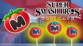 HOW TO MAKE Kirby's MAXIM TOMATO (cake pops) from Super Smash Bros. Ultimate!