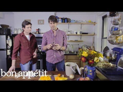 Luke and Ben from Luke's Lobster Serve Up a Root Vegetable Gratin   Basket to Table   Bon Appetit