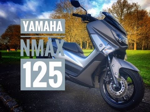 2018 Yamaha NMax 125 Scooter Review