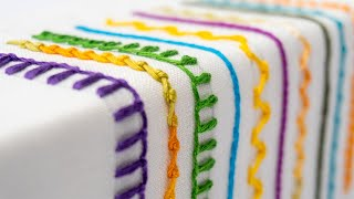 Extraordinary Hand Embroidery Stitches | Step By Step Tutorial For Beginners