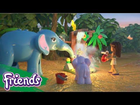 Vidéo LEGO Friends 41422 : La cabane des pandas dans la jungle