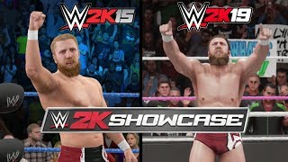 WWE 2K19 Vs. WWE 2K15: Daniel Bryan 2K Showcase Moments