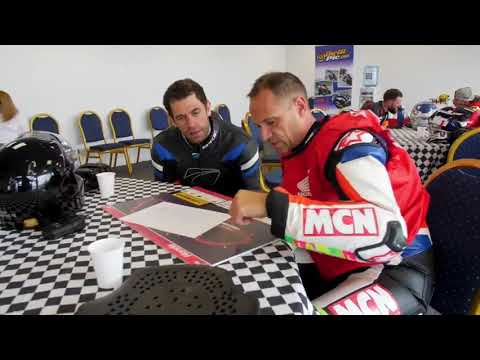 Kelvin Fletcher recently visited the Honda Ron Haslam Race School at Donington Park