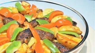 ✅ УЖИН на всю семью. Котлеты с картошкой в духовке | 💯 Турецкая кухня