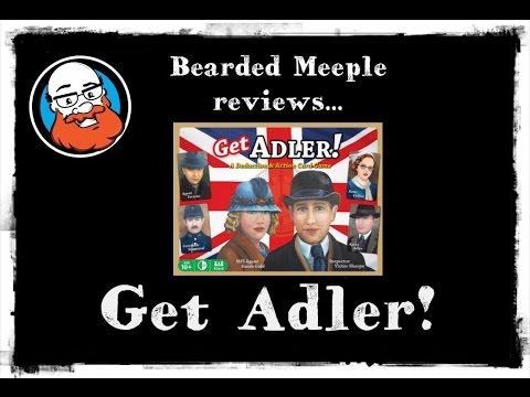 Bearded Meeple reviews : Get Adler!