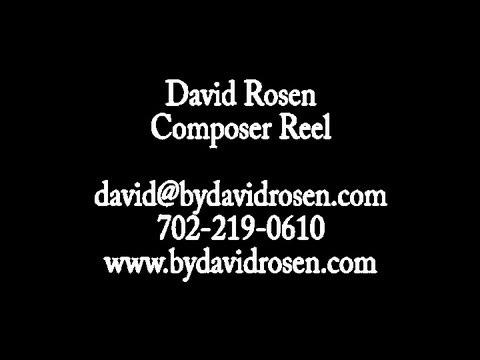 David Rosen  2013 Composer Reel