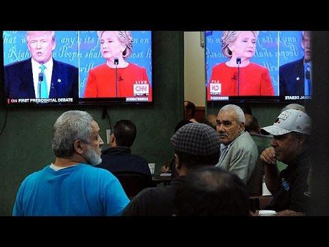 ΗΠΑ: H Χίλαρι κέρδισε τις εντυπώσεις στην πρώτη τηλεμαχία