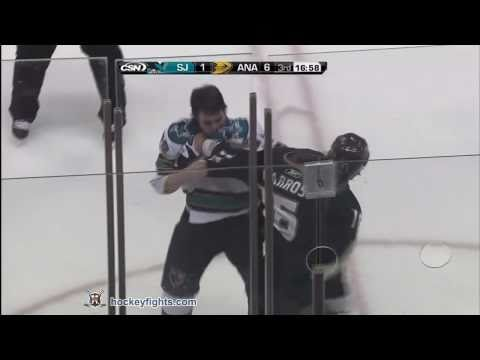Brandon Mashinter vs George Parros