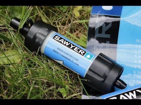 Sawyer Mini Wasserfilter - Review //SawyerSqueeze
