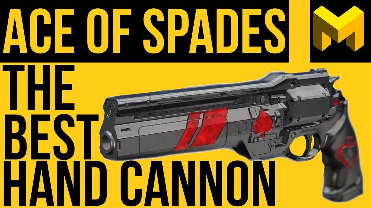 Ace of Spades Exotic Hand Cannon boost carry