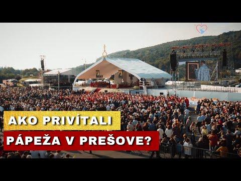 PÁPEŽ FRANTIŠEK SLÚŽIL BYZANTSKÚ LITURGIU V PREŠOVE