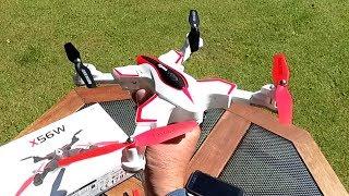Syma X56W folding altitude hold WiFi FPV TX or APP flight control good beginner quad