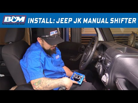 Install: 2005-18 Jeep Wrangler TJ, JK 6-Speed Manual Shifter 45195