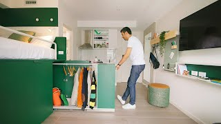 NEVER TOO SMALL Ep 29 19sqm Micro Apartment & Co Living Space - UKO