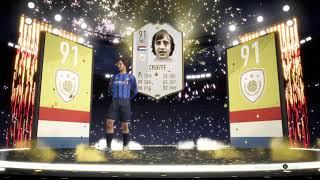 Johan Cruyff 91 Icon Gezogen 😱 Krassestes 50K PACK In FIFA 19