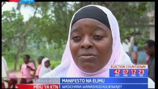 Manifesto na elimu : Wasichana wanashughulikiwaje kielimu?