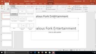 PowerPoint 2016 - Adding Slides