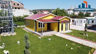 64 m² Prefabrik Ev İncelemesi