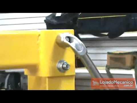Chave Biela Tipo L com Boca Vazada 8 mm - Video