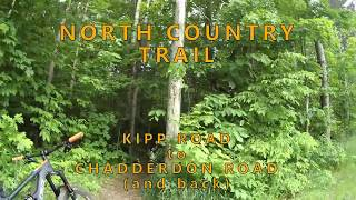 North Country Trail, Harbor Springs Michigan - Kipp to Chadderdon and back.