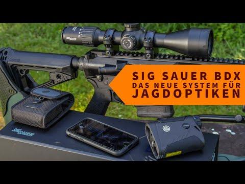 sig-sauer: Brandneue Jagdoptiken: SIG Sauer BDX Electro-Optics-Modellreihe – jetzt auch im Optikpaket erhältlich!