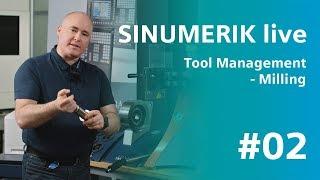 SINUMERIK live - Tool management - milling