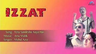 Izzat : Tera Sandesha Aaya Hai Full Audio Song   - YouTube