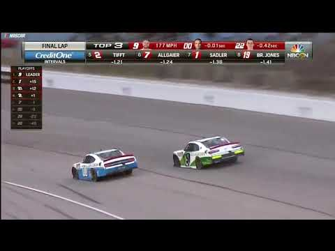 Custer powers past Reddick on final lap to win at Texas