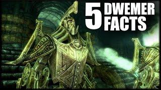 Skyrim - 5 Dwemer Facts - Elder Scrolls Lore