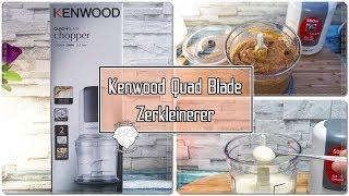 Kenwood CH580 Zerkleinerer | Universalzerkleinerer | Ideal für Soßen, Salsa oder Pesto.