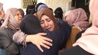 شقيقات الشهيد أشرف نعالوة يتلقين خبر استشهاده لوحدهن بعد إعتقال الأب والأم والابن تحميل MP3