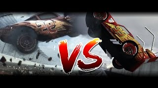 Original VS Remake | Cars 3 Trailer Comparision | Using TrackMania 2