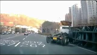 ДТП грузовиков 2017  ДТП апрель  Видео аварии  Видеорегистратор  Страшные аварии