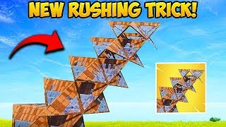 *NEW* EPIC RAMP RUSHING TRICK! - Fortnite Funny Fails and WTF Moments! #368