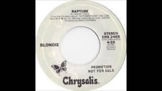 Blondie - Rapture - Billboard Top 100 of 1981