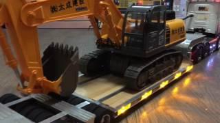 タミヤ 1/14 低床トレーラー SCANIA R620