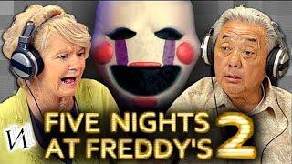 Реакция стариков на игру Five Nights at Freddy