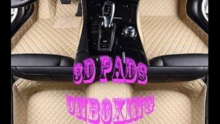 3D ковры из кожи в авто с Aliexpress