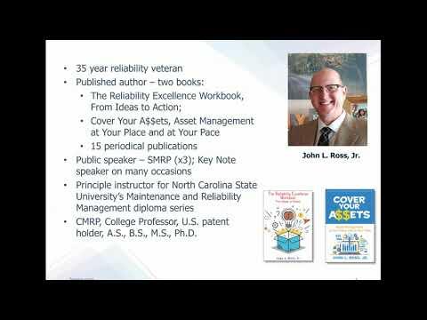 WEBINAR: ISO 55000 Asset Management with Expert Trainer John ...