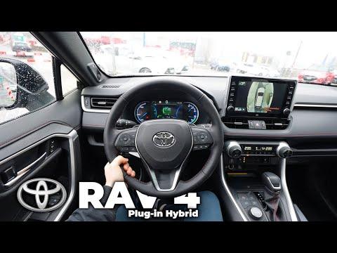 New Toyota RAV4 Plug-in Hybrid 2021 Test Drive POV Review