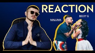 Becky G, Maluma   La Respuesta (Official Video) REACTION