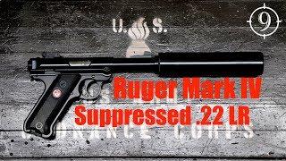 Ruger Mark IV Tactical Suppressed .22LR Review (Hitman's Krugermeier) 22 pistol