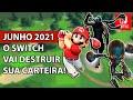 Novos Jogos Para Nintendo Switch Junho 2021