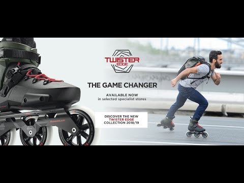 "Video: Rollerblade Twister Edge ""the game changer"""