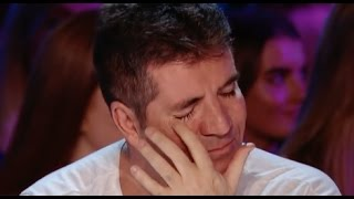 His Voice Is So Emotional That Even Simon Started To Cry! - Video Youtube