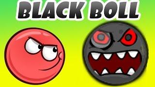 КРАСНЫЙ ШАР ПРОТИВ ЧЕРНЫЙ ШАРИК - НОВЫЙ ВРАГ RED BALL - BLACK BALL мультик игра для детей от Спуди!