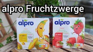 """alpro Fruchtzwerge im Test   Veganer Frucht-""""Quark"""" für Kinder   FoodLoaf"""