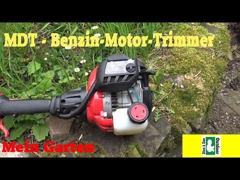 GG: Mein Garten - Rasen trimmen mit der MDT-Benzin-Rasentrimmer