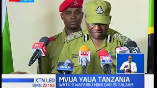 Watu tisa wamefariki kufuatia mvua kubwa inayoendelea kunyesha jijini Dar es salaam nchini Tanzania