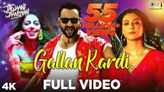 Full Video: Gallan Kardi - Jawaani Jaaneman | Saif Ali Khan, Tabu, Alaya F | Jazzy B, Jyotica Tangri